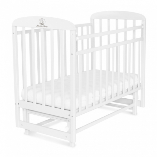 Кровать детская МИЛАНА (маятник, опуск. планка)