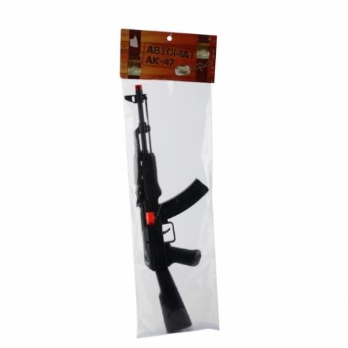 """АВТОМАТ-ТРЕЩЕТКА """"ИГРАЕМ ВМЕСТЕ"""" ИСКРИТ AK47-3A В ПАК. (РУСС. УП.) 60*20 СМ"""