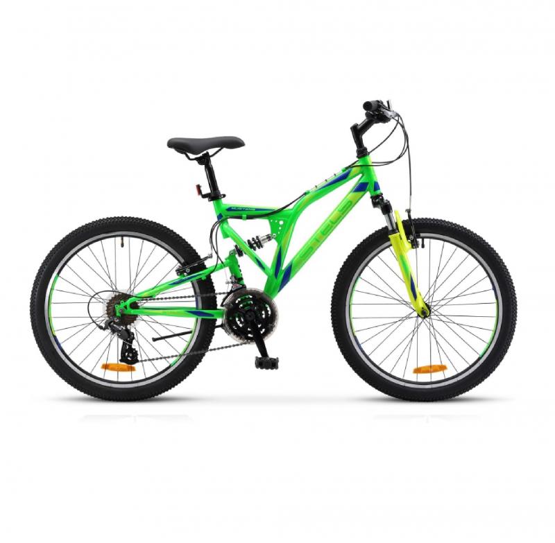 Велосипед 24 Stels Mustang V V020 (рама 16) Неоновый-зелёный