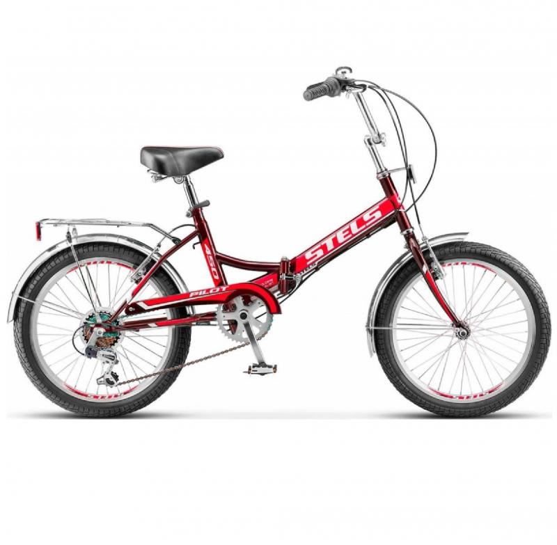 Велосипед 20 Stels Pilot 450 6-ск. Z011 Красный