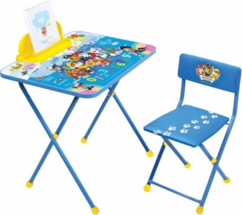 Набор мебели Щенячий патруль (стол+пен+стул мягк)