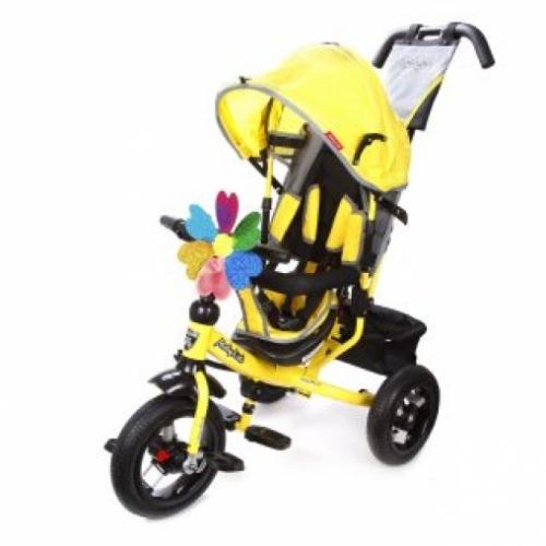 Велосипед 3кол. Comfort 12x10 AIR, желт.