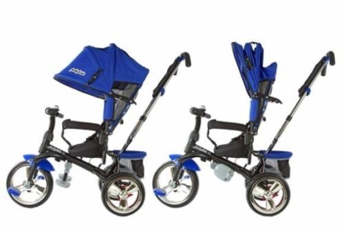"Велосипед 3кол. Comfort- maxi, 12/10"" кол., син."