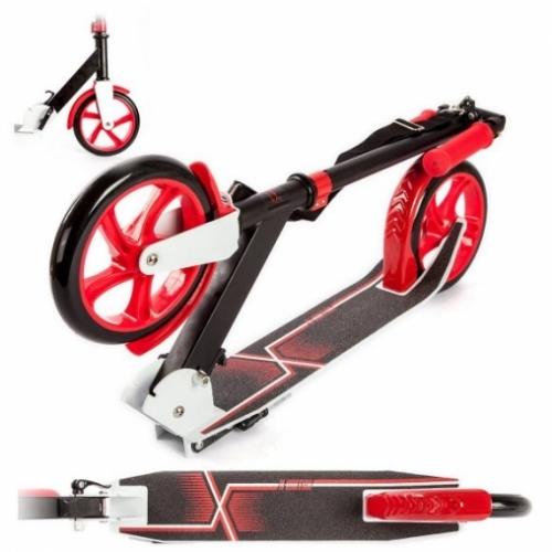 Скутер X-Match Liberty, 200 мм PU, плеч.переноска, красн.