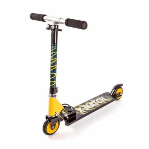 Скутер X-Match Next, 100 мм PVC, желт.