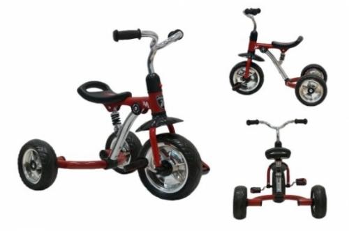 "Велосипед 3кол., сиденье ""anti-shock"", красн."