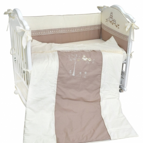 Комплект в кроватку 4 предм. ADELINA