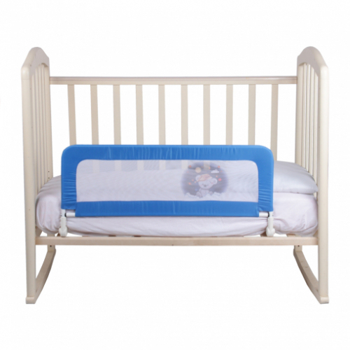Бортик-ограничитель для кроватки 90*34см, с откидной планкой