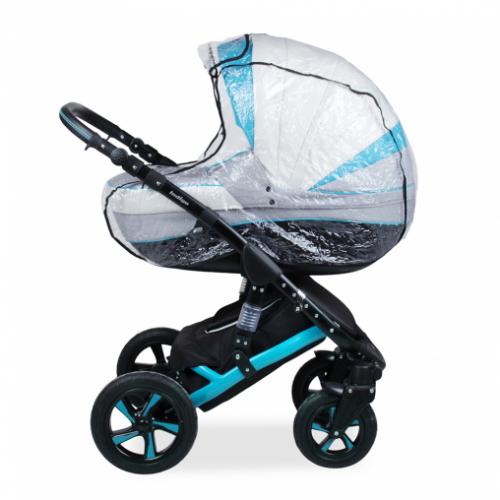 Дождевик для коляски с окошком и клапаном