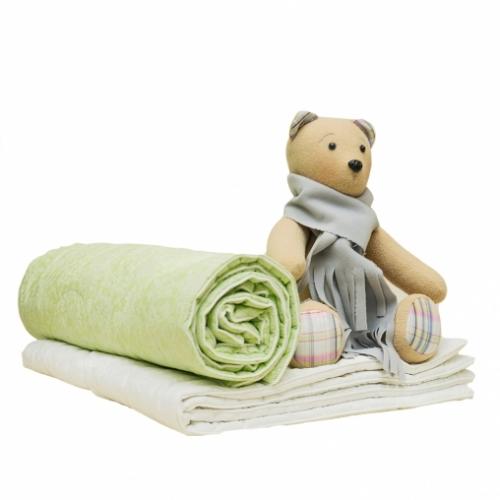 Одеяло стёганое 110*140 ОСА-2, бязь