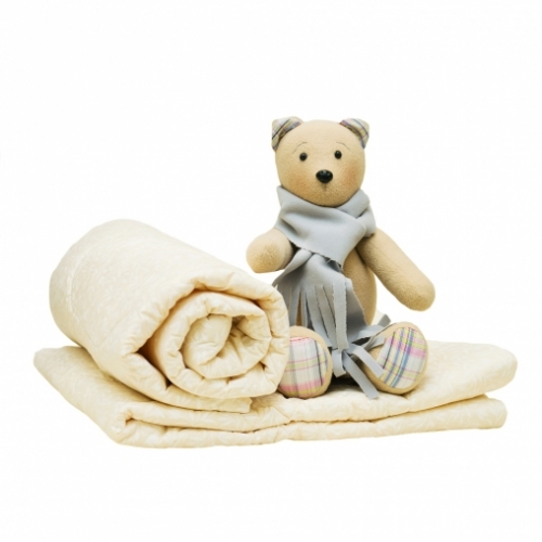 Одеяло стеганое ОСА-3 110*110, бязь