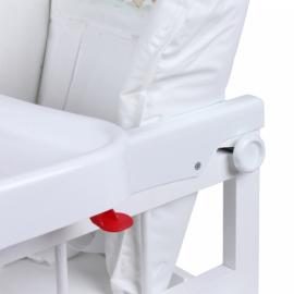 Стол-стул для кормления МИШУТКА белый