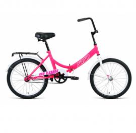 Велосипед FORWARD 20 ALTAIR CITY Складной 1ск, розовый/белый