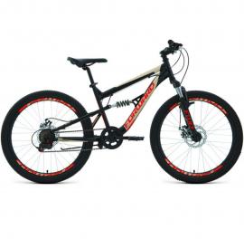 Велосипед FORWARD 24 RAPTOR 2.0 DISC, 6 ск