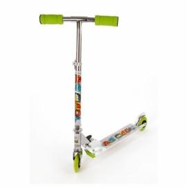 Скутер X-Match Be Сool, 100 мм PVC, зелен.
