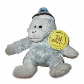 Мягкая игрушка Обезьянка в шапке, 12 см артикул 681190П
