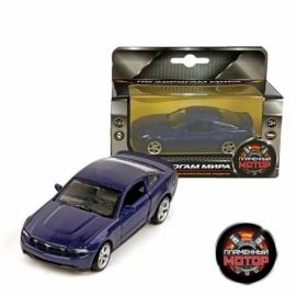 Машина мет. 1:43 Ford Mustang GT, откр.двери, цвета в ассорт., 12 см