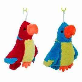 Игрушка-перчатка Попугай озвуч. 20 см