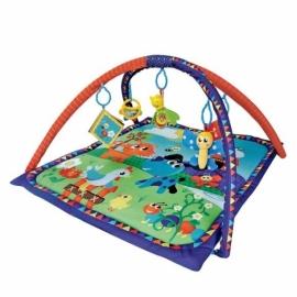 """Развивающий коврик """"Домашние животные"""", 5 развивающих игрушек, с книжкой-шуршалкой"""
