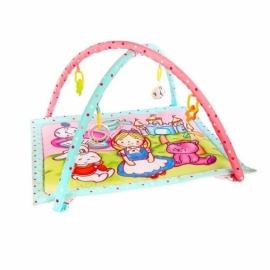 """Развивающий коврик """"Алиса и волшебный замок"""" с 4-мя развивающими игрушками, с шуршалкой и зеркальцем"""