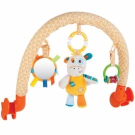 """Дуга с погремушкой, зеркальцем и мягкой игрушкой """"Жирафик Дэнни"""""""