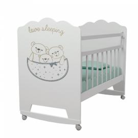Кровать детская LOVE SLEEPING, колесо-качалка