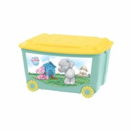Ящик для игрушек на колесах с аппликацией ME TO YOU