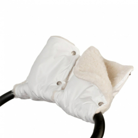 Муфта Карапуз - рукавички для рук на коляску (мех)