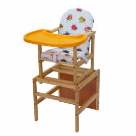 Стол-стул для кормления ГУЛЛИВЕР с пластиковой столешницей