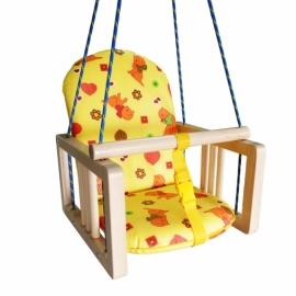 Качели подвесные с мягким сиденьем