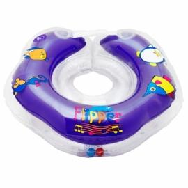 Круг для плавания Flipper 0+ с музыкой БУЛЬ-БУЛЬ ВОДИЧКА