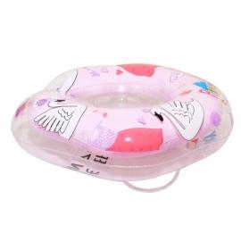 Круг для плавания FLIPPER 0+ с музыкой ЛЕБЕДИНОЕ ОЗЕРО розовый