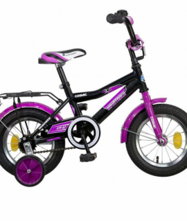Велосипед 12 Novatrack COSMIC ЧЕРНЫЙ