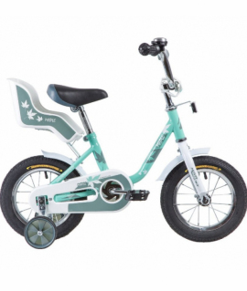 Велосипед 12 Novatrack MAPLE СЕРО-ЗЕЛЕНЫЙ
